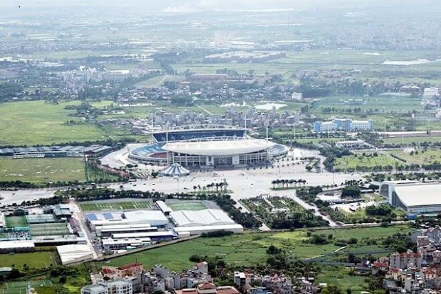Sân vận động Mỹ Đình.