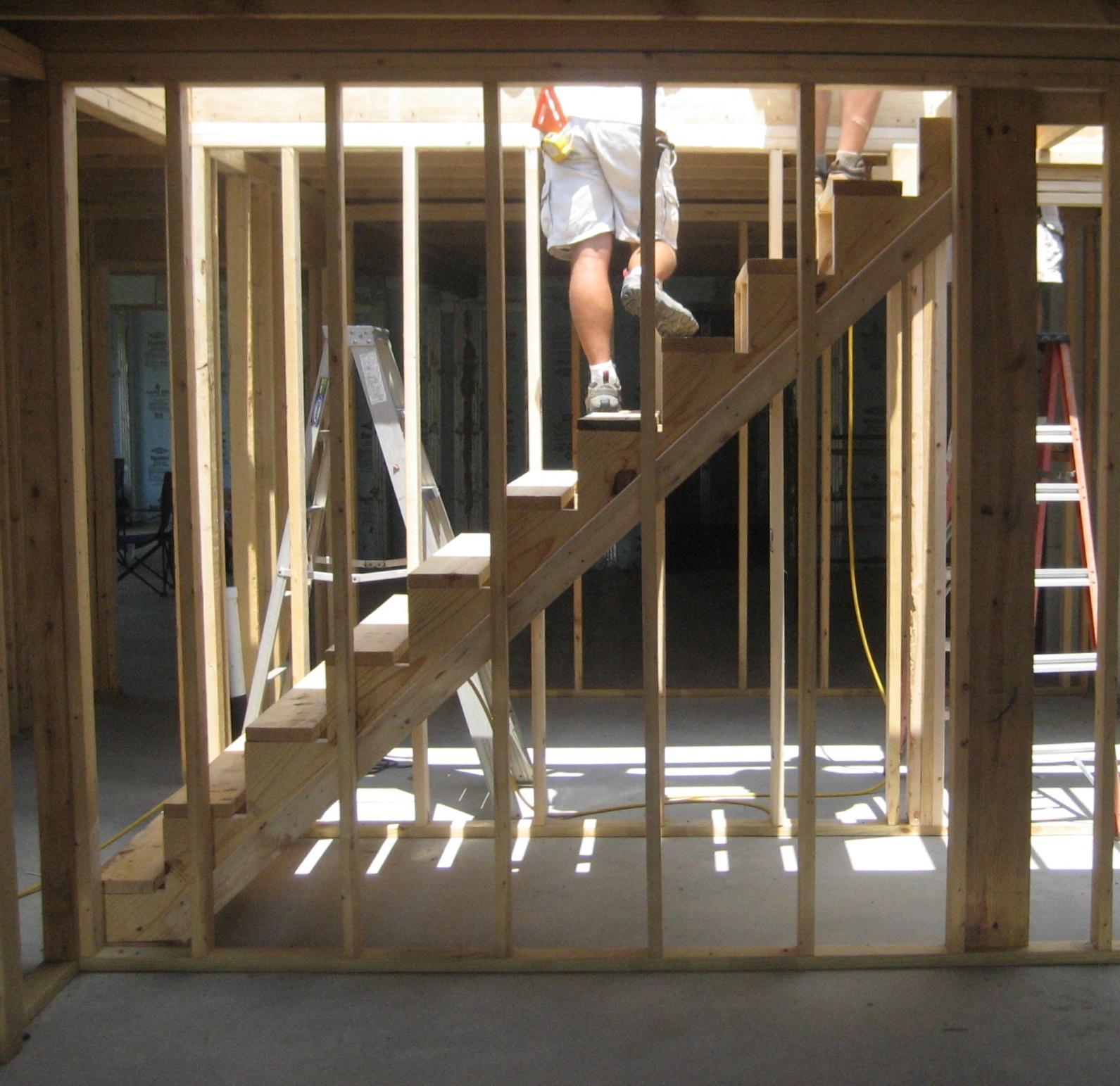 Building The Turner House: Framing Week 2