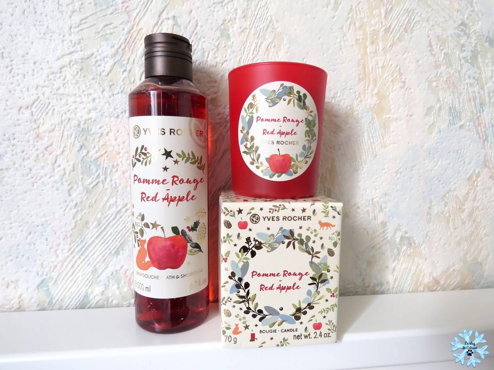 Pomme Rouge - Red Apple - Bougie - Yves Rocher