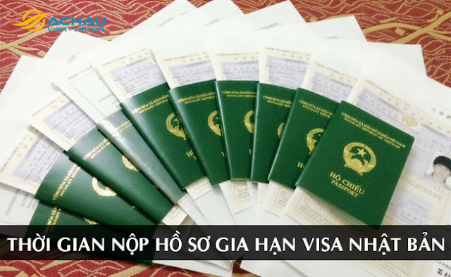 Thời gian nộp hồ sơ gia hạn visa Nhật Bản trước khi hết hạn là bao lâu?