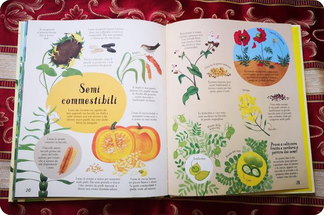 libri per bambini sulle piante