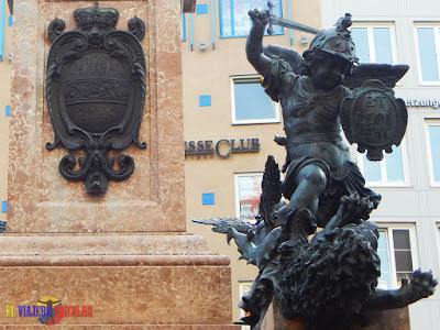 Angel en Marienplatz