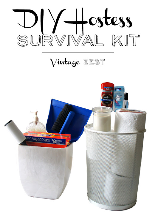 Hostess Survival Kit for Party Disasters!