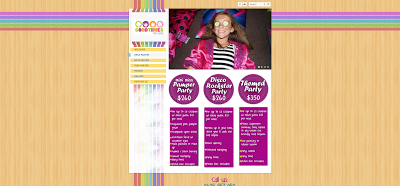 Girl's Party Page