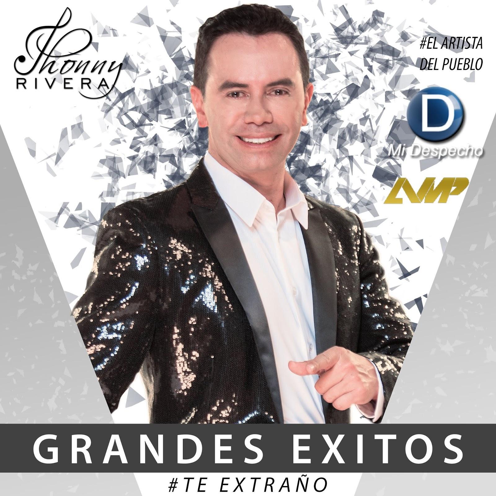 Jhonny Rivera Grandes Éxitos Frontal
