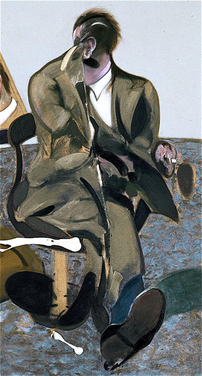 francis bacon: retrato de george dyer en un espejo [1968]: museo ...