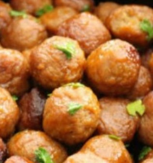 Honey Buffalo Crockpot Meatballs