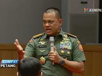 Wartawan senior BBC: Tak Apa Panglima TNI Dituding Berpolitik, Demi Selamatkan Bangsa