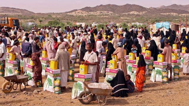 Dilanda Konflik, Separuh Penduduk Yaman Berada di Ambang Kelaparan