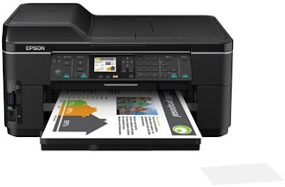 Print on the go from your smartphone or computer Epson WF-7515 Driver Downloads