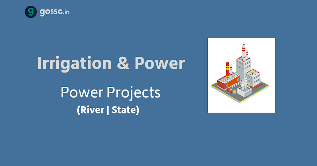 Irrigation and Power Projects with Rivers