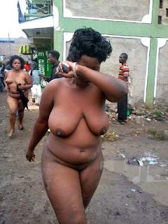 Hot nude women outdoor