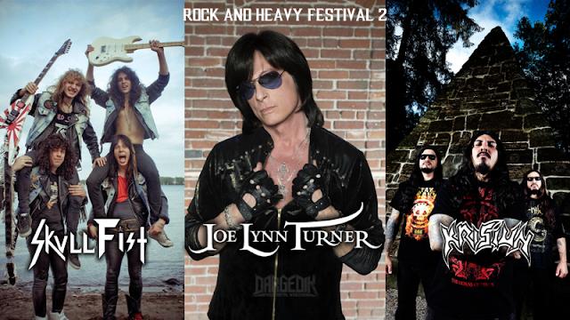 Joe Lynn Turner en Lima, Skull Fist en Lima, Krisiun en Lima