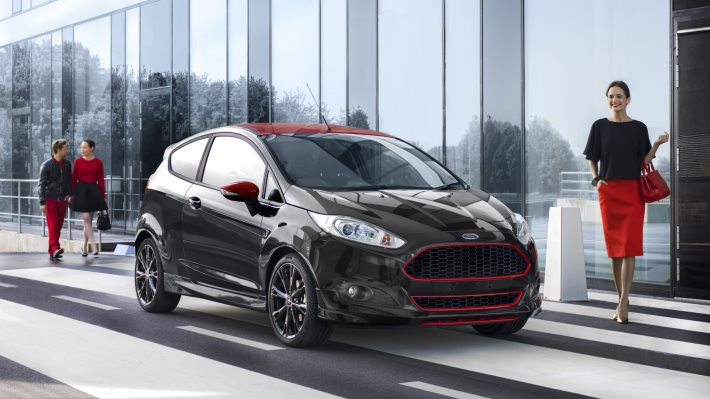 Wallpaper 5: Ford Fiesta Red Black