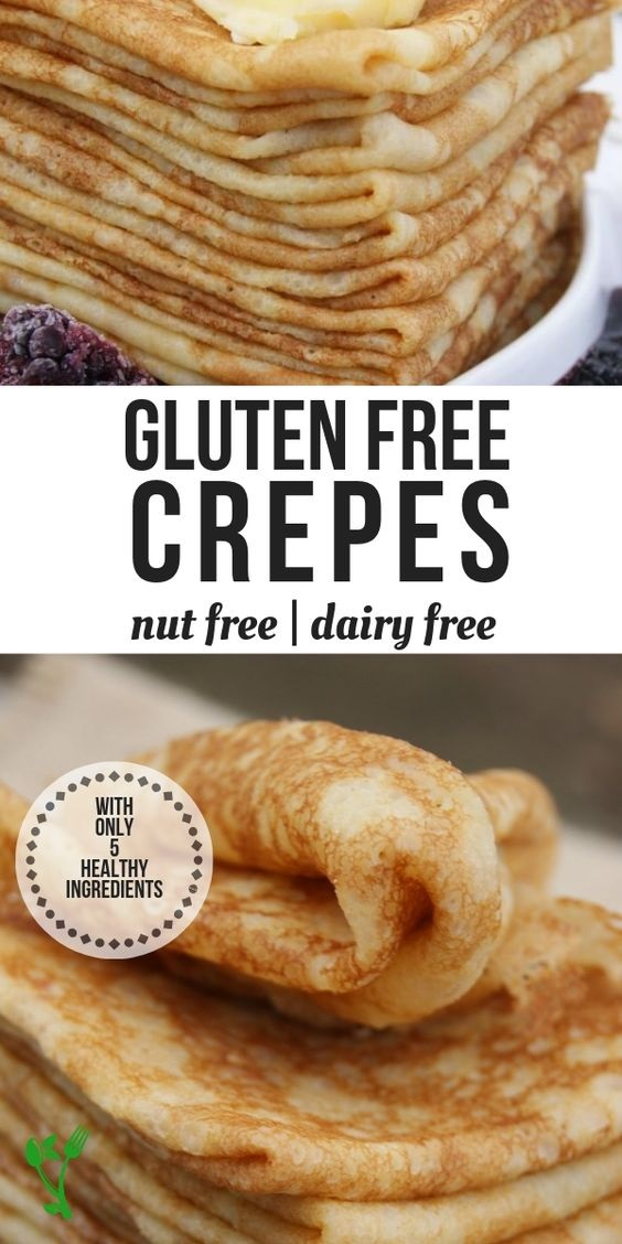 Gluten-Free French Crêpes Recipe