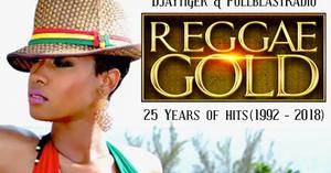FULLBLAST RADIO: REGGAE GOLD - 25 YEARS OF HITS (MP3 DOWNLOAD)