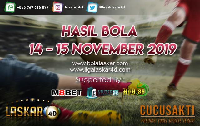 HASIL BOLA JITU TANGGAL 13 – 14 NOVEMBER 2019