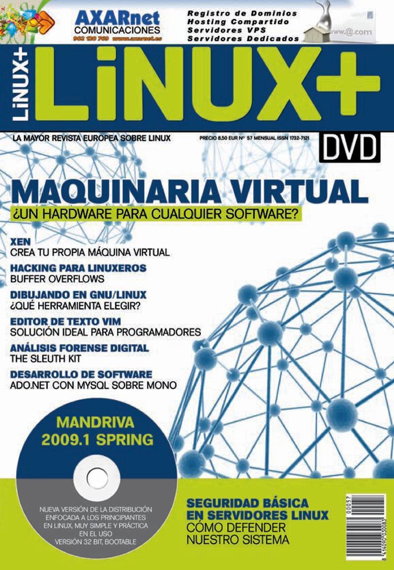 Linux+ Nro. 57 – Maquinaria Virtual: ¿Un hardware para cualquier software?