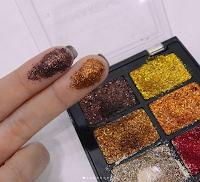 paleta de glitters