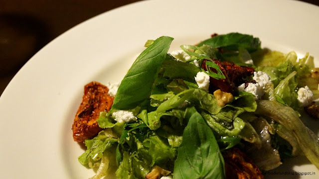 Oven roasted tomato salad @ A Romantic Dining Experience @ Grasshopper | Bangalore