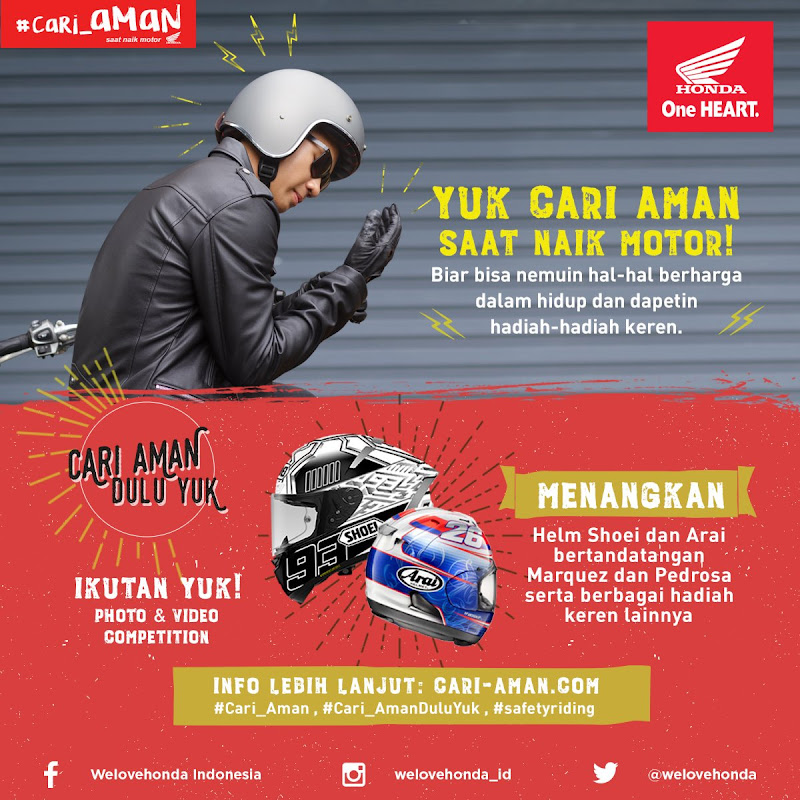Social Media Motor Honda Photo & Video Competition #cari_amanduluyuk