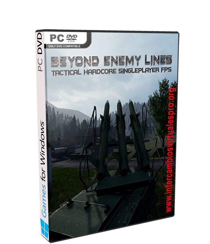 Beyond Enemy Lines poster box cover