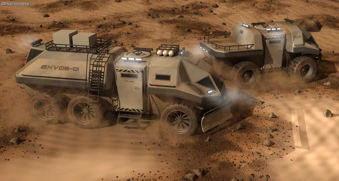 Mars truck by Bryan Versteeg