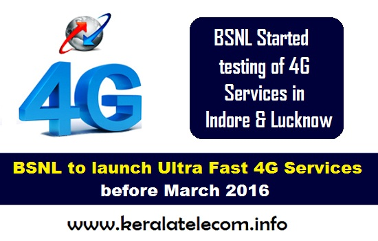 BSNL to launch Ultra Fast 4G Services in 14 telecom circles, started testing in Indore and Lucknow