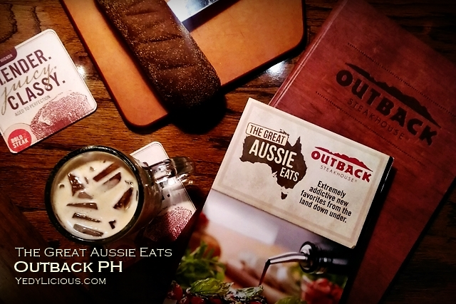 The Great Aussie Eats at outback Steakhouse Philippines, Outback PH New Menu Blog Review Branches Address Contact Numbers website Facebook Instagram Twitter YedyLicious Manila Food Blog