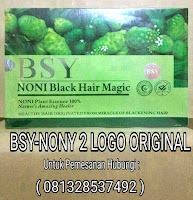 Jual BSY Noni Shampoo Black Magic Hair di Surabaya