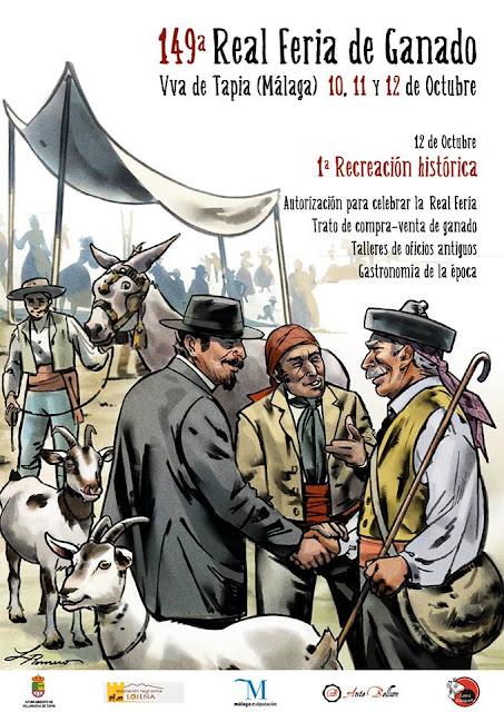 Recreación Histórica de la Feria del Ganado de Villanueva de Tapia