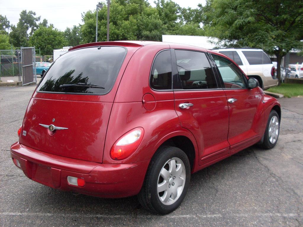 Ride Auto: 2006 Pt Cruiser Red 2
