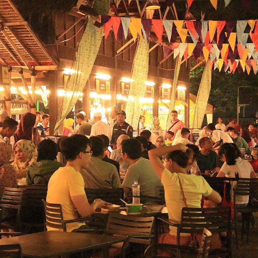 Festival Kuliner Bekasi 2017 - Nganreki' Sanggena Bassoro - Suasana