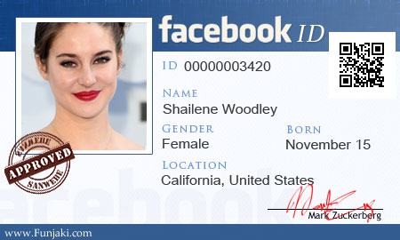 Facebook Id Card Creat Fake