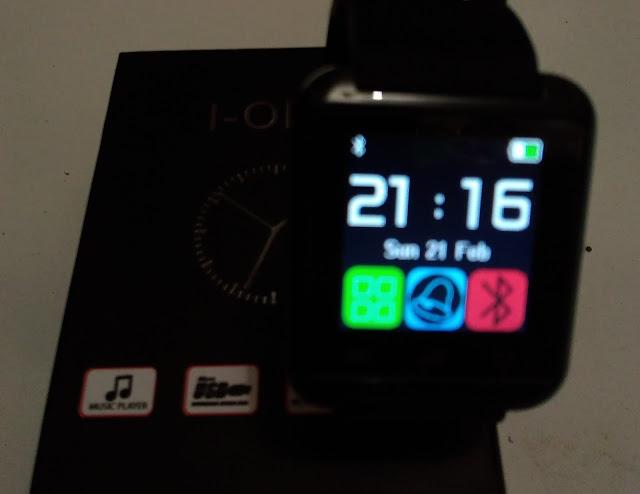 Review I-One U8 Smartwatch, Jam Cerdas untuk Android dan IOS