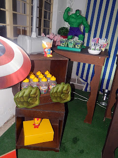 decoracao vingadores