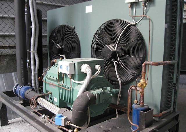 Фото ремонт и обслуживание промышленного холодильного оборудования