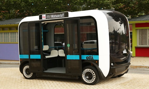 Elektrikli Sürücüsüz Araçlar Yollara Çıkıyor