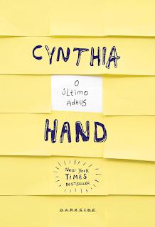 [Resenha] O Último Adeus - Cynthia Hand