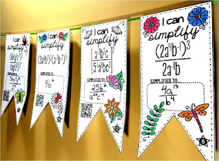 exponent rules math pennant