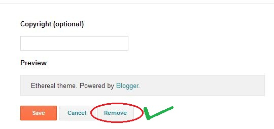 powered by blogger attribution remove theih
