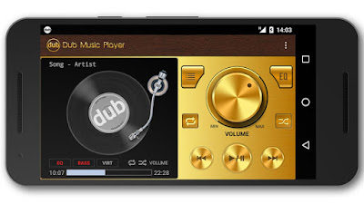 Dub Music Player (MOD, Premium) APK For Android