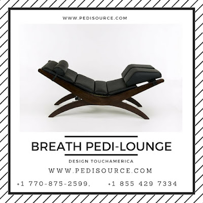 BREATH PEDI-LOUNGE and Pedi Benches