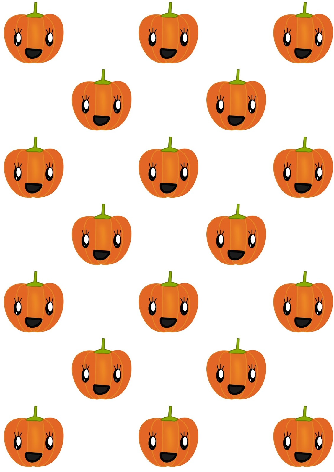 Free Digital Pumpkin Scrapbooking Paper