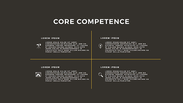 Core Competence Presentation with Free PowerPoint Template Slide 3
