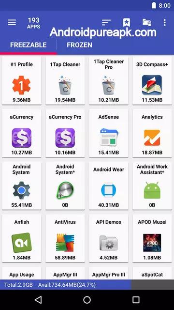 AppMgr Pro III App 2 SD Apk