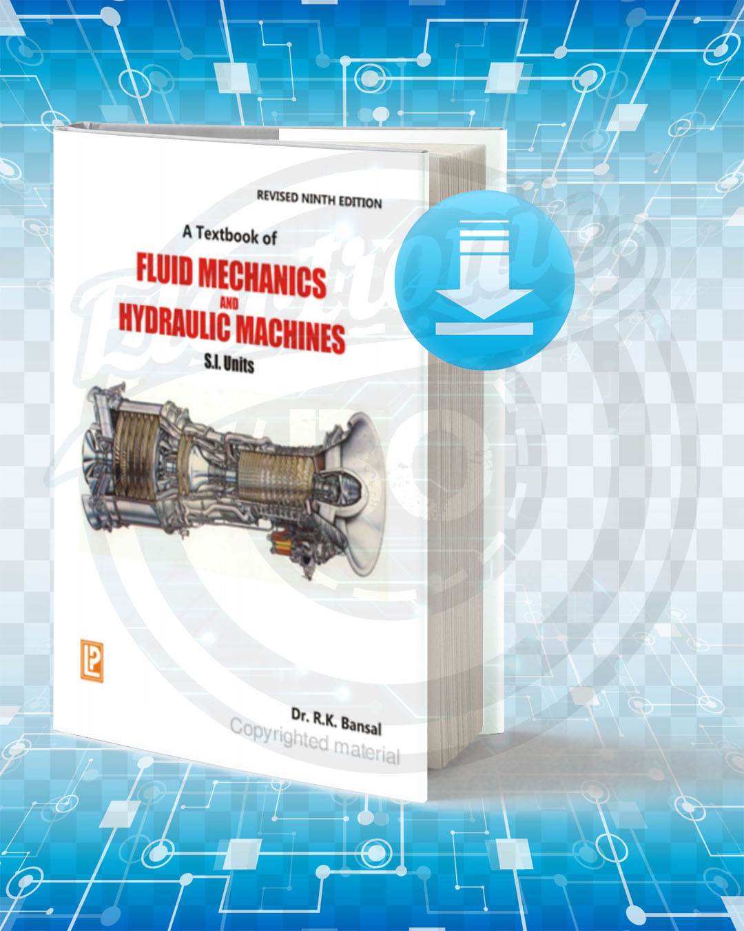 Download A Textbook of Fluid Mechanics and Hydraulic Machines