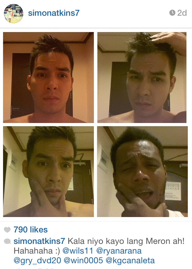 0d55106ba8c One of the best  MakeUpTransformation posts I ve seen. From Simon Atkins to  Willie Miller in 4 easy steps. Effortless. MH. Posted by Mico Halili ...