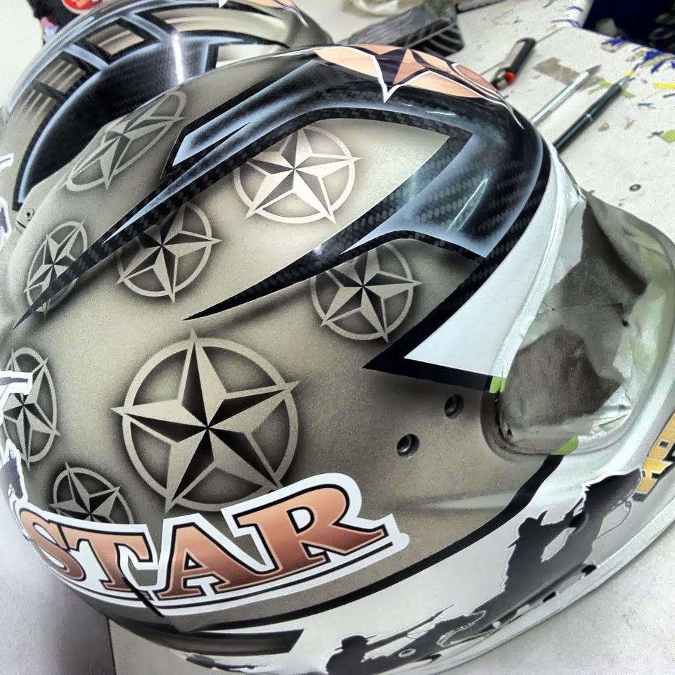 Racing Helmets Garage: Impact Air Draft