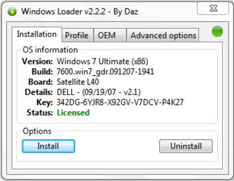 o loader ativador do windows 7